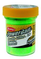 Berkley Powerbait Double Glitter Twist - Chartreuse-Waterlemon-Orange