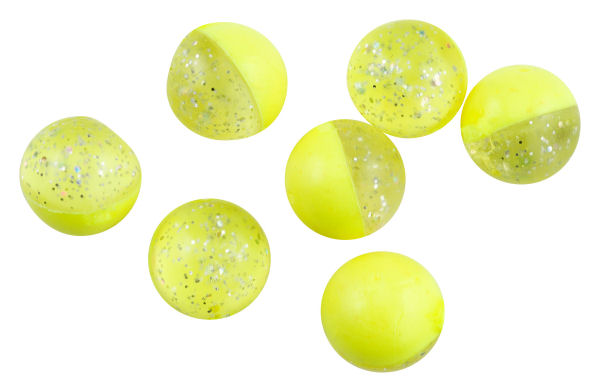 Berkley Powerbait Floating Eggs Garlic - Fluo-Yellow