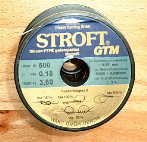 Stroft GTM - Monofile Angelschnur