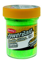 Forellenteig Berkley Powerbait Double Glitter Twist - Chartreuse-Waterlemon-Orange