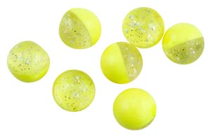 Berkley Powerbait Floating Eggs Garlic - Fluo-Yellow